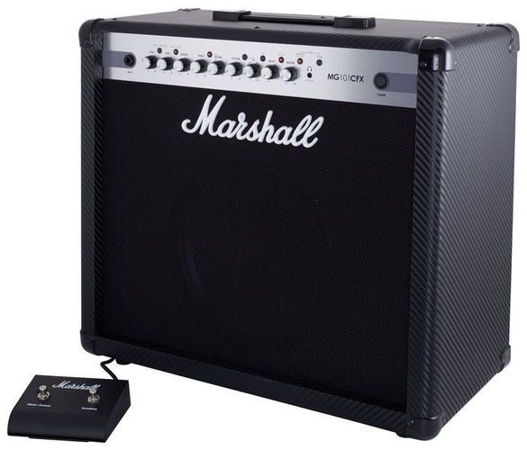 Комбо для гитары MARSHALL MG101CFX комбо для гитары marshall jvm205c