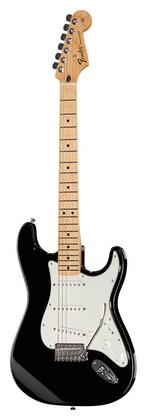 Стратокастер Fender Standard Strat MN BK телекастер fender 72 telecaster custom mn bk