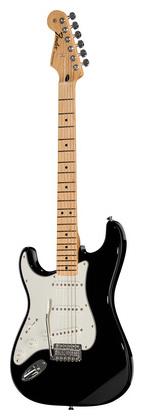 Гитара для левшей Fender Standard Strat MN BLK LH стратокастер fender standard strat mn lpb