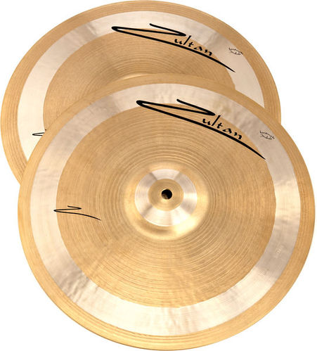 Тарелка хай-хэт Zultan 14 Z-Series Hi-Hat хай хэт и контроллер для электронной ударной установки roland fd 9 hi hat controller pedal
