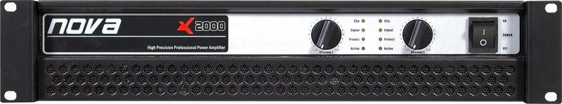 Усилитель мощности 850 - 2000 Вт (4 Ом) Nova X 2000 усилитель мощности 850 2000 вт 4 ом the t amp proline 3000