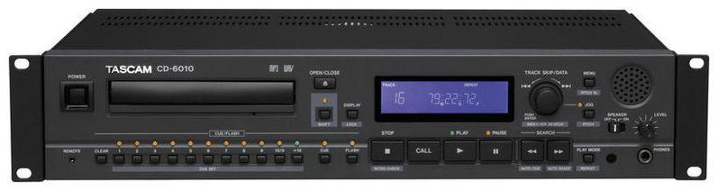 CD проигрыватель Tascam CD-6010 tascam cd 200i