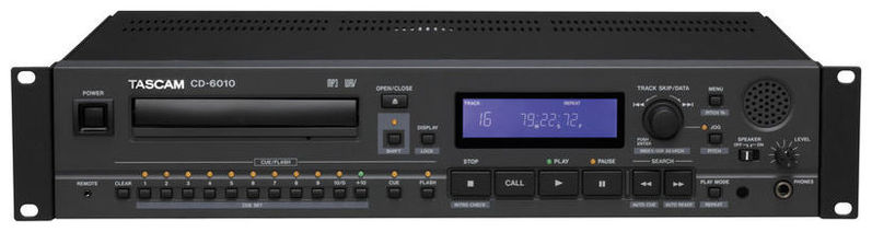 CD проигрыватель Tascam CD-6010 cd проигрыватель exposure 2010s2 cd black