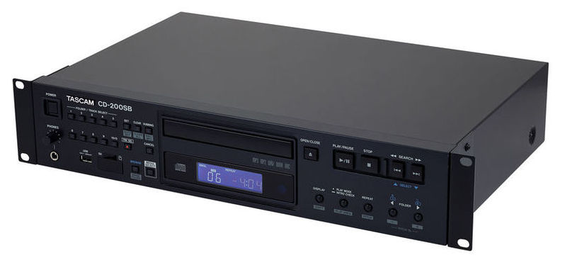 CD проигрыватель Tascam CD-200 SB tascam cd 200i