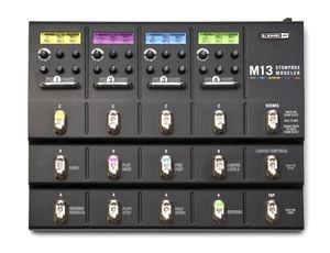 Гитарный процессор для электрогитары LINE 6 M13 Stompbox чехол на сиденье autoprofi gob 1105 gy line m