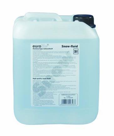 Жидкость для генераторов эффектов EUROLITE Snow fluid жидкость для генераторов эффектов martin pro i fog fluid