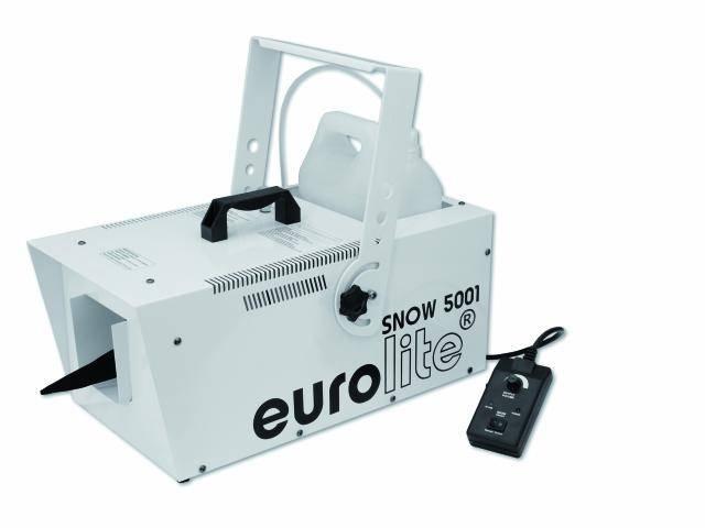 Генератор снега EUROLITE Snow 5001 machine генератор дыма eurolite dynamic fog 600