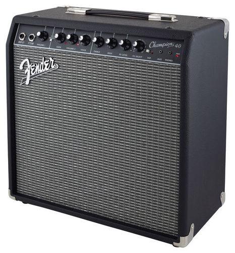 Комбо для гитары Fender Champion 40 комбо для гитары fender mustang gt 200