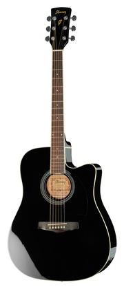 Электроакустическая гитара Ibanez PF15ECE-BK электроакустическая гитара ibanez aw65ece lg