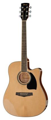 Электроакустическая гитара Ibanez PF15ECE-NT электроакустическая гитара ibanez aw65ece lg