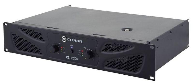 Усилитель мощности до 800 Вт (4 Ом) Crown Xli2500 усилитель мощности 850 2000 вт 4 ом crown dsi 1000