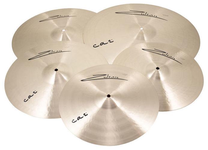 Набор барабанных тарелок Zultan Caz Series Professional Set тарелка хай хэт zultan 14 rock beat hi hat medium