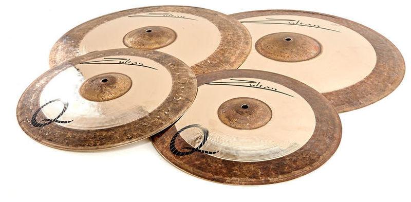 Набор барабанных тарелок Zultan Q Series Standard Set тарелка хай хэт zultan 14 rock beat hi hat medium