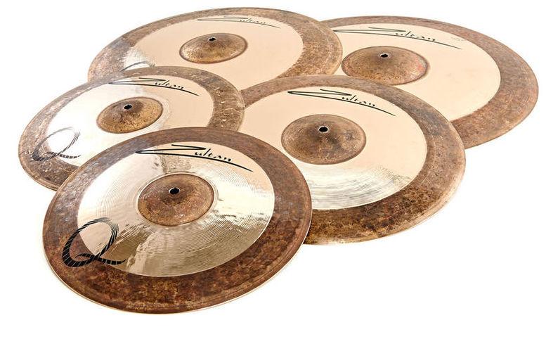 Набор барабанных тарелок Zultan Q Series Professional Set тарелка хай хэт zultan 14 rock beat hi hat medium