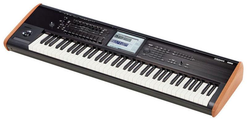Рабочая станция Korg KRONOS2-73 синтезатор korg kronos2 73