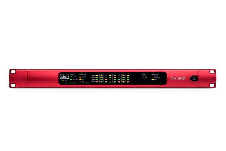 ЦАП-АЦП конвертер Focusrite RedNet A16R цап ацп конвертер benchmark dac3 hgc b