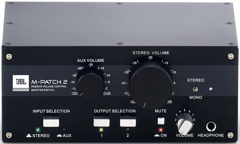 Контроллер, элемент управления JBL M-Patch 2 контроллер элемент управления contour design shuttle pro v 2