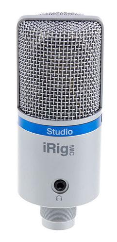 iPad/iPhone микрофон IK Multimedia iRig Mic Studio silver ik multimedia irig powerbridge