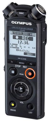 Рекордер Olympus LS-P2 jinghua jwd pcm 1 золотой микрофон шума высокой чувствительности миниатюрный микрофон расстояние большой ключ рекордер