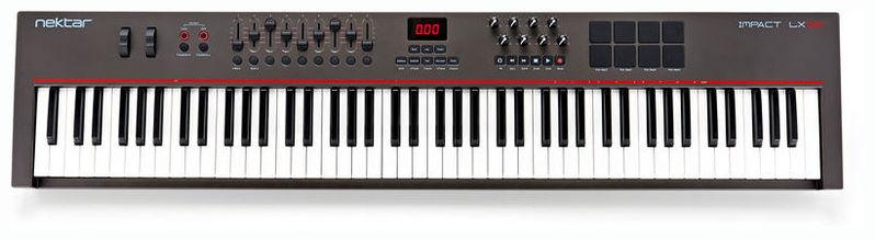 MIDI-клавиатура 88 клавиш Nektar Impact LX88 midi клавиатура 88 клавиш miditech i2 stage 88