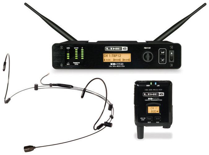 Радиосистема с головным микрофоном LINE 6 XD-V75HS Black радиосистемы line 6 xd v75