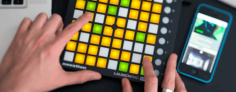 Обзор USB MIDI контроллера Novation Launchpad Mini MK2