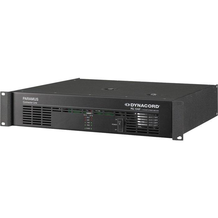 Усилитель мощности до 800 Вт (4 Ом) Dynacord PCL 1240T усилитель мощности до 800 вт 4 ом crown xls 1002
