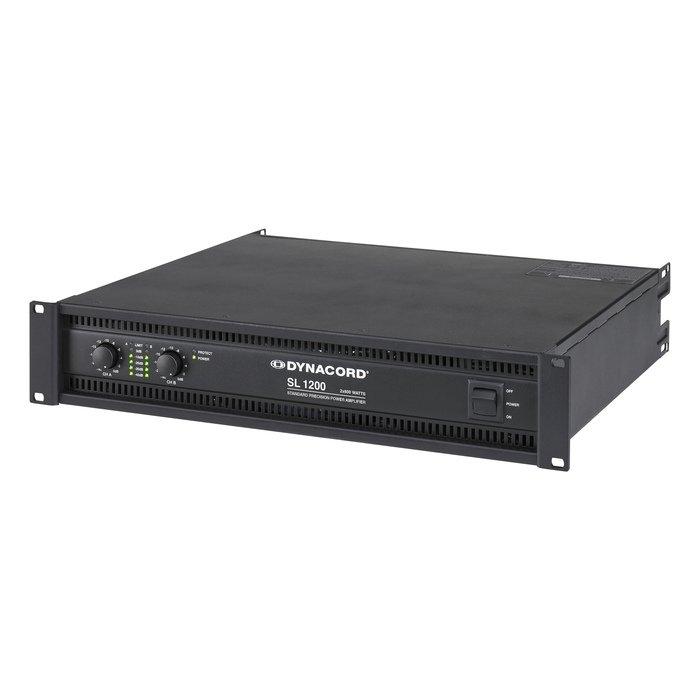 Усилитель мощности до 800 Вт (4 Ом) Dynacord SL 1200 профессиональный усилитель мощности eurosound xz 1200