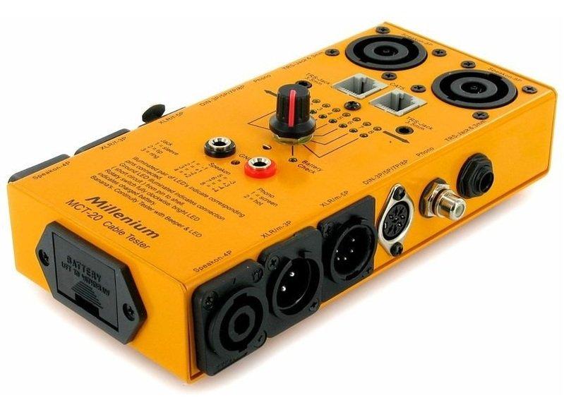 Устройство для измерения звука Millenium MCT-20 рама millenium pdr 5004 prof drum rack