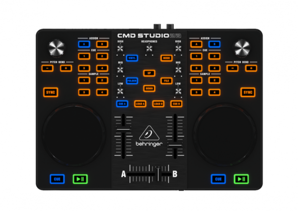 MIDI, Dj контроллер Behringer CMD Studio 2А midi dj контроллер behringer cmd studio 4a