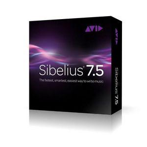 Софт для студии Avid Sibelius 7.5 Media Pack аудио книги на дисках