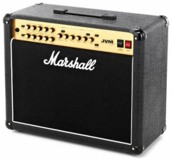 MARSHALL JVM 215C 50 WATT ALL VALVE 2 CHANNEL COMBO