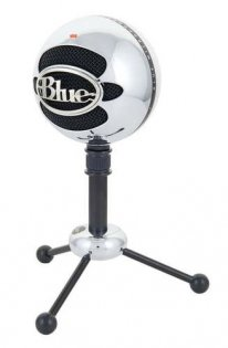 Blue Snowball Bundle-Brushed Aluminium