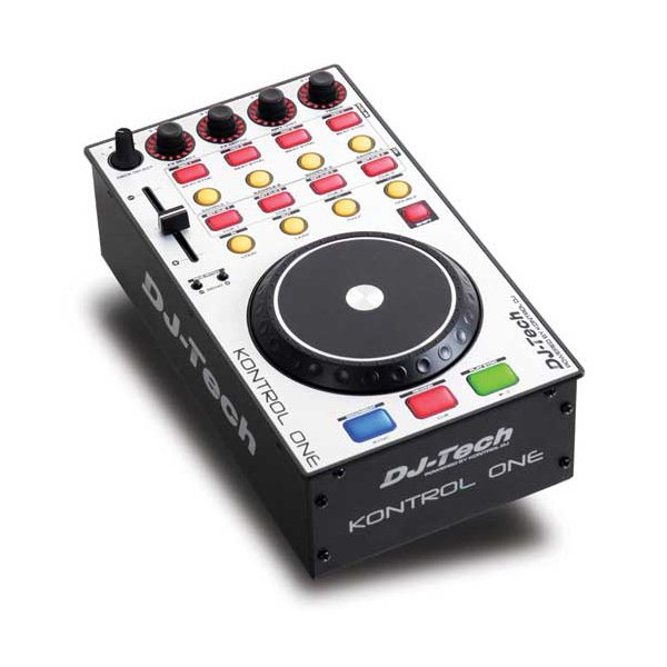 MIDI, Dj контроллер Dj-Tech KONTROL ONE midi dj контроллер dj techtools midi fighter twister wh